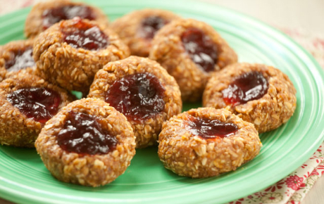 No-Bake Thumbprint Cookies