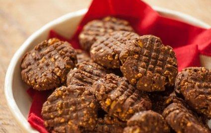 Pumpkin-Peanut Butter Cocoa Cookies