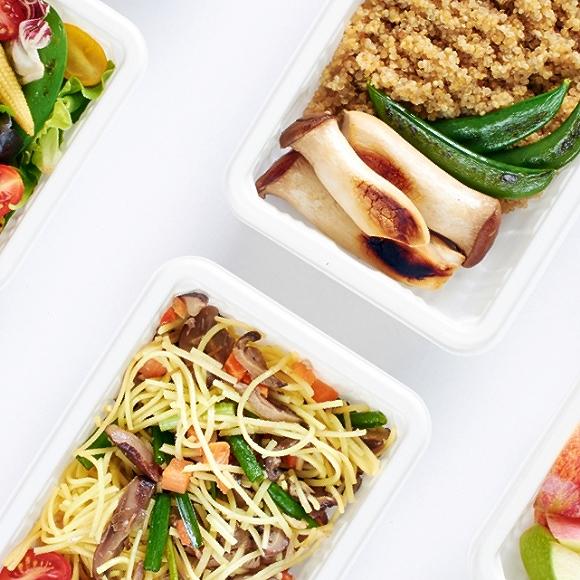 Vegan Meal Prep Image