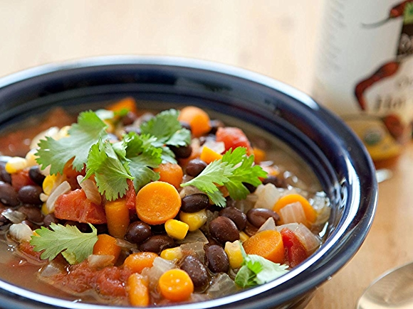 Zesty Black Bean Soup