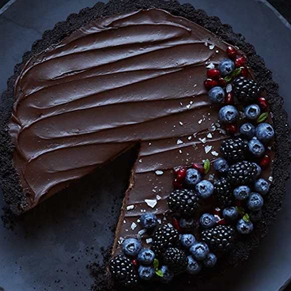 vegan chocolate mousse tart recipe