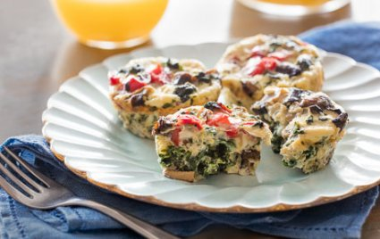 Egg White Omlette Bites