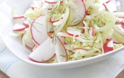 Crisp Fennel and Radish Salad