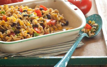 Black Bean and Roasted Corn Pasta Salad