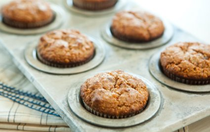 Carrot and Date Muffins