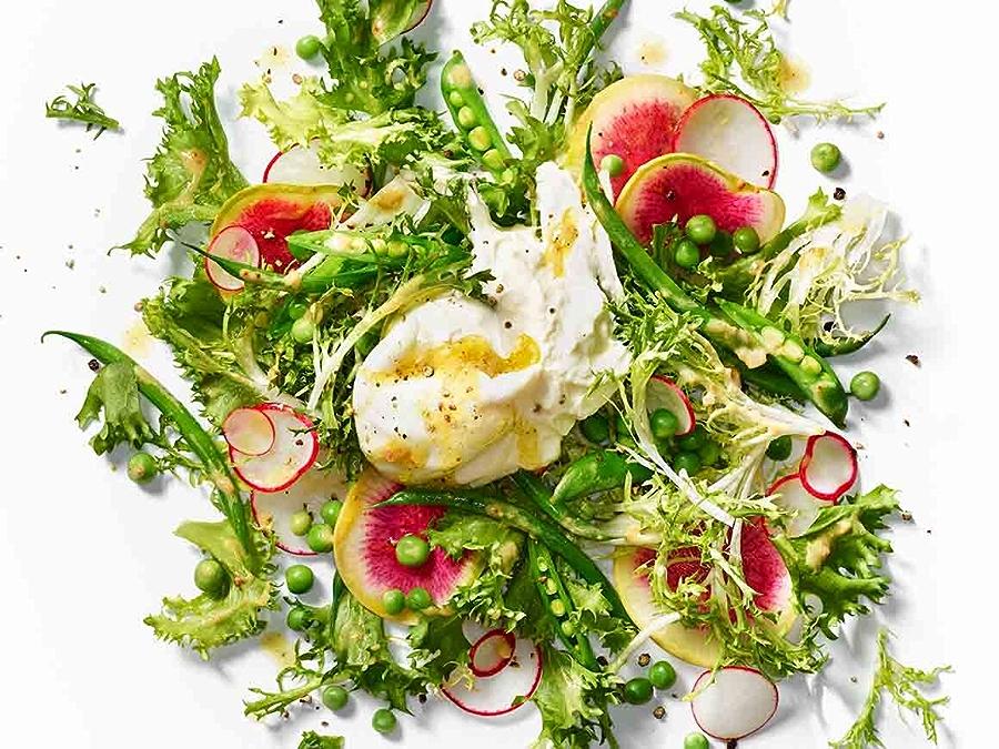 Image of frisee salad
