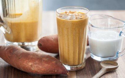 Sweet Potato-Coconut Smoothie