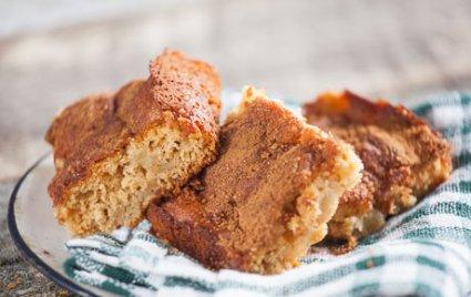 Honey Butter-Apple Cake