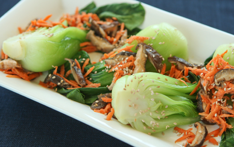 Bok Choy and Carrots