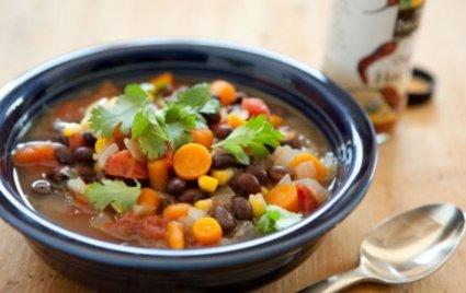 Zesty Black Bean Soup