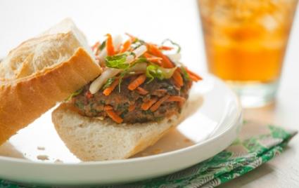 Banh Mi Grass-Fed Beef Burgers