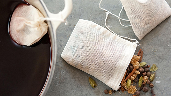 Mulled cider packets