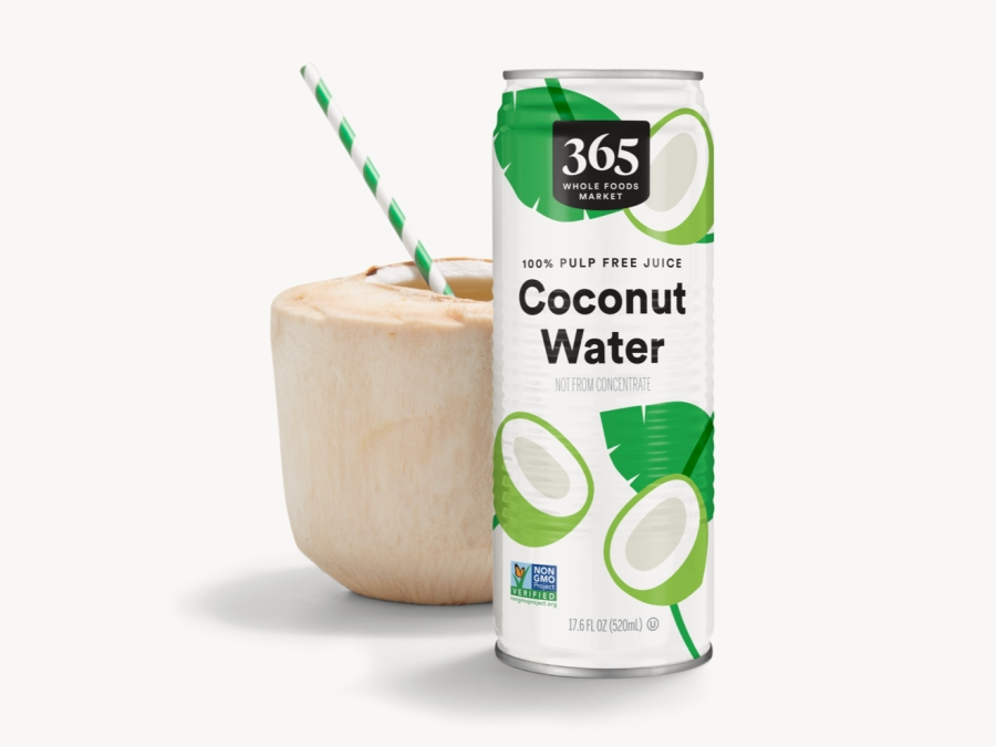 365 by Whole Foods Market Coconut Water Can