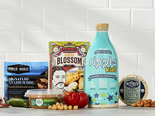 Plant-based products offered at Whole Foods Market