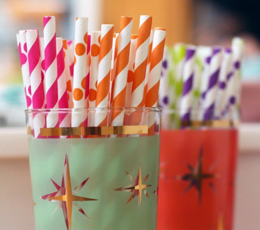 Straws - Photo credits: Lisa Rawlinson
