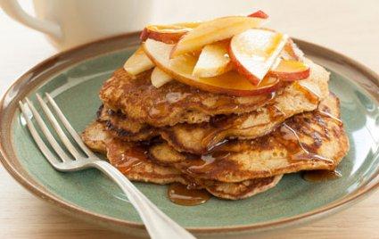 Gluten-Free Walnut Pancakes
