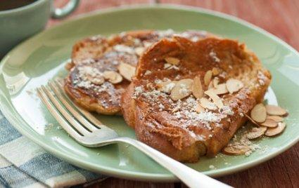 Vegan Almond French Toast