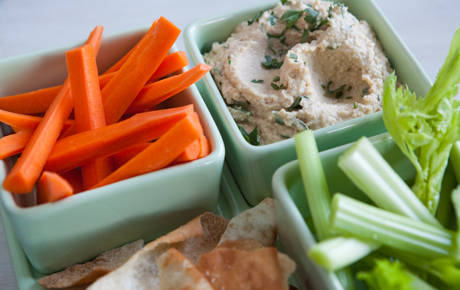 Simply Delicious Homemade Hummus