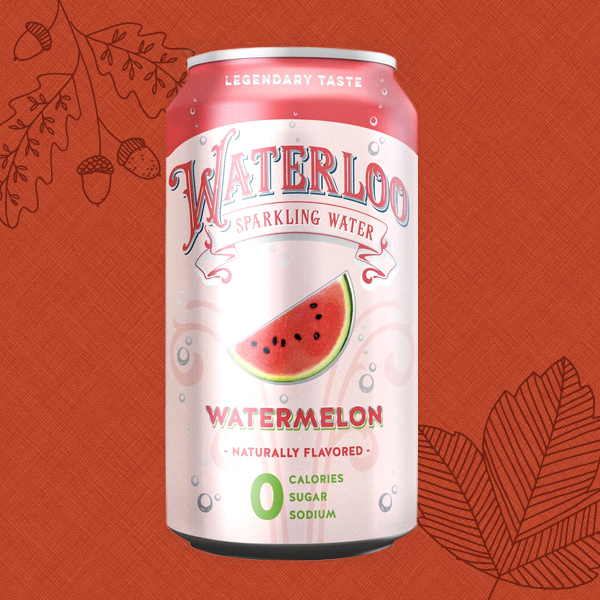 Waterloo Canned Sparkling Water