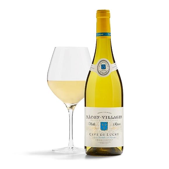bottle of Cave de Lugny Vieille Reserve wine