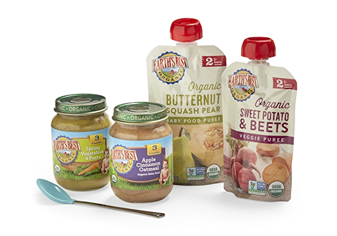 Earth's Best Jars and Pouches