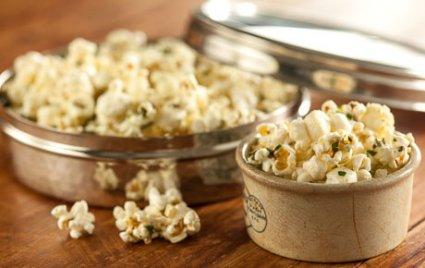 Blue Cheese Herb Popcorn