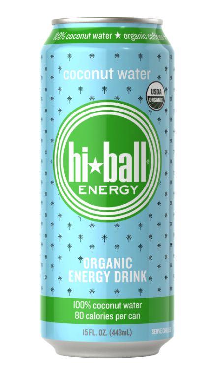 Hiball Organic Coconut Water Energy Drink