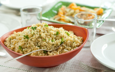 Basic Millet with Onion and Parsley