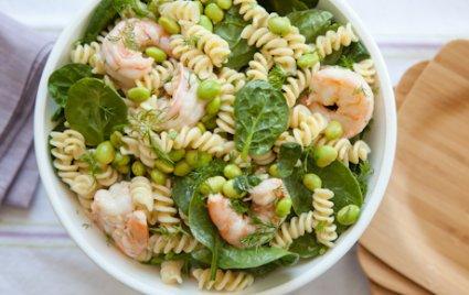 Dilled Shrimp Pasta Salad