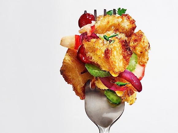 Recipe: Vegan Cranberry Apple Stuffing