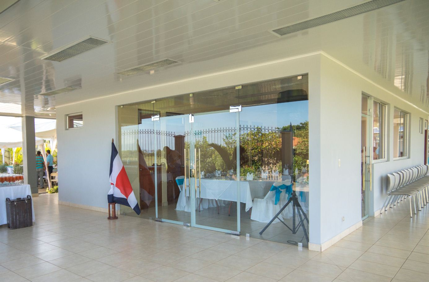 Finca Corsicana's Community Center