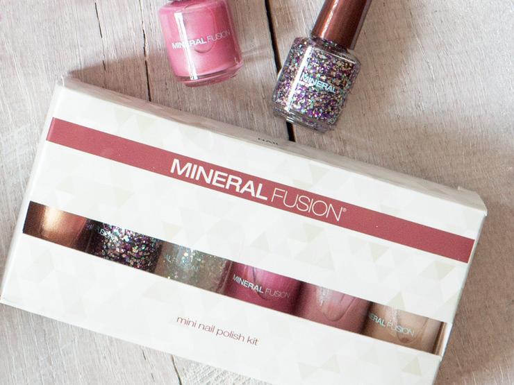 Mineral Fusion Mini Nail Polish Kit Constellation 6-Pack