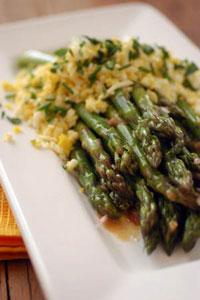 Asparagus Mustard Vinaigrette