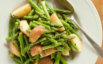 Red Potato and Asparagus Salad