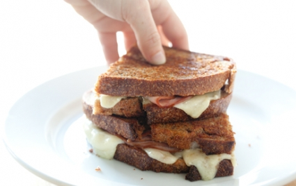 Grilled Ham and Le Gruyere