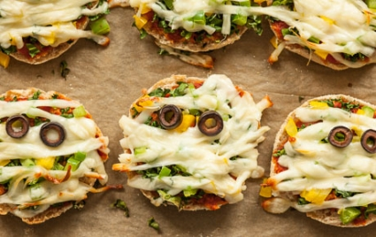 Mini Mummy Pizzas