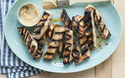 Grilled Miso Swordfish Steak