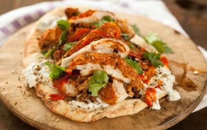 Grilled Tandoori Chicken Sandwiches