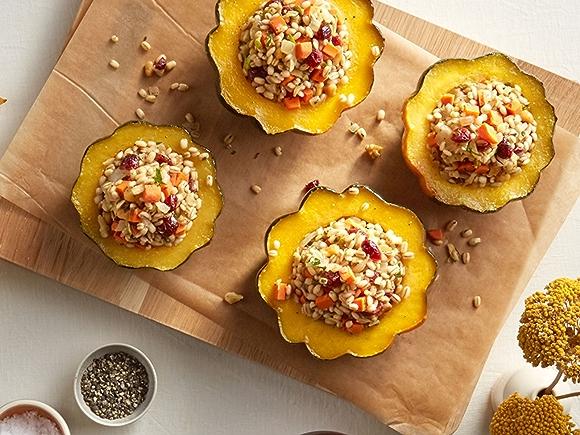 Recipe: Harvest Stuffed Acorn Squash