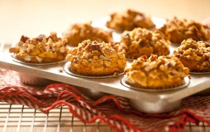 Sweet Potato Graham Muffins