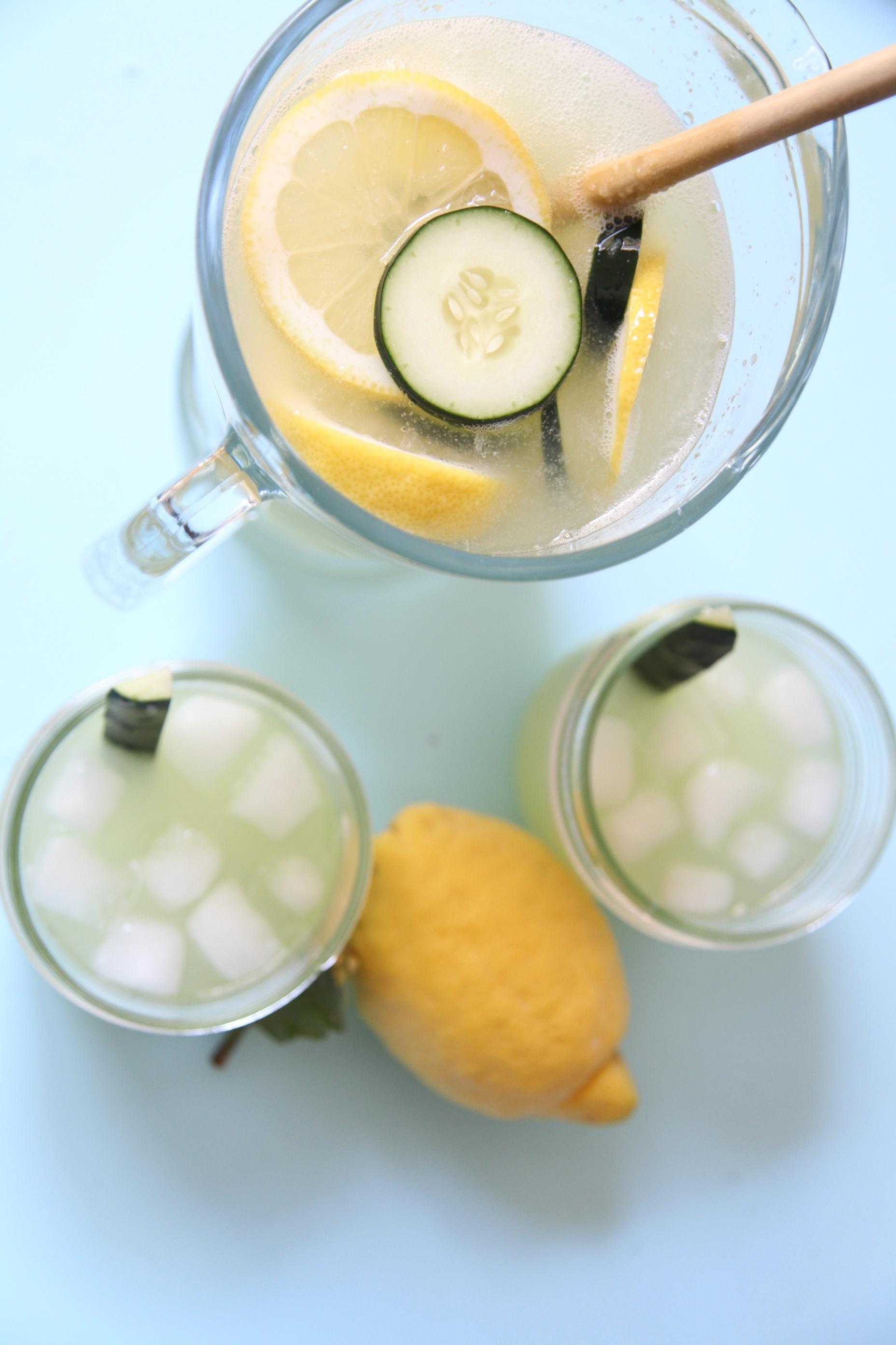 Cuke Lemon Fizz | Image by Lady Moon Farms