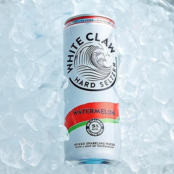 White Claw Watermelon Seltzer drink