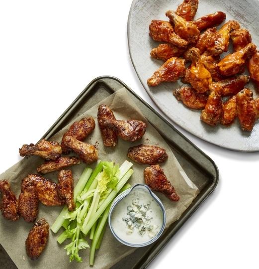 Seasoned & Marinated Chicken Wings