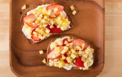 Pineapple Breakfast Sandwich