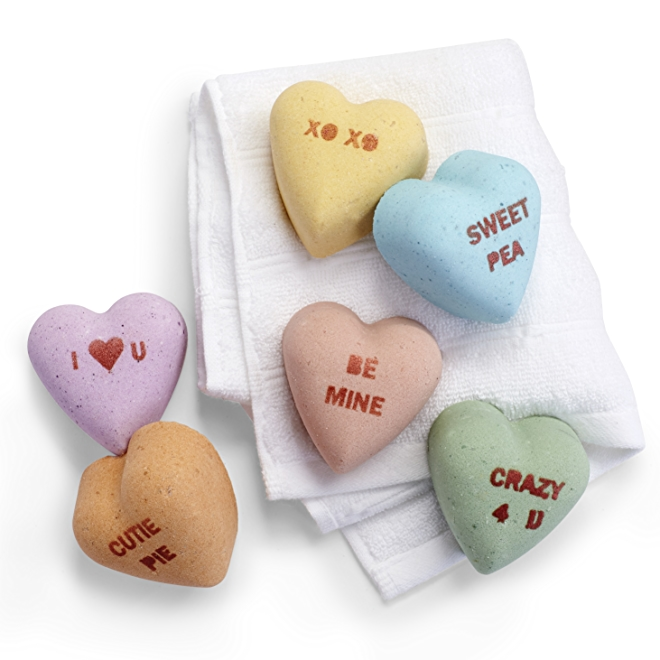 Pacha Heart Shaped Bath Bombs
