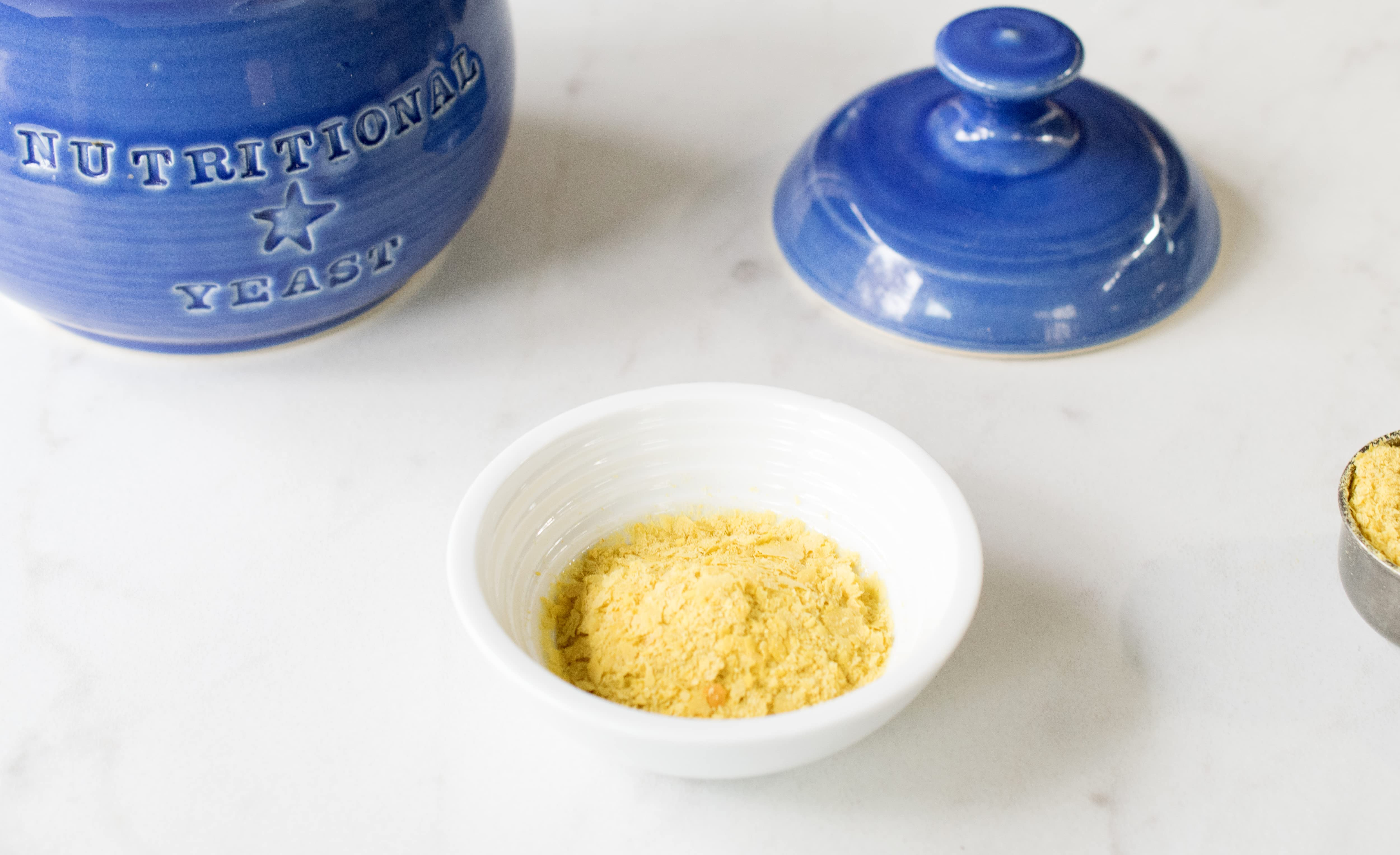 nutritional yeast in bowl