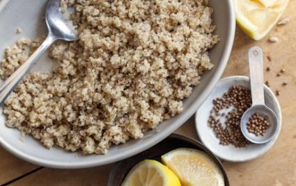 Lemon Coriander Quinoa