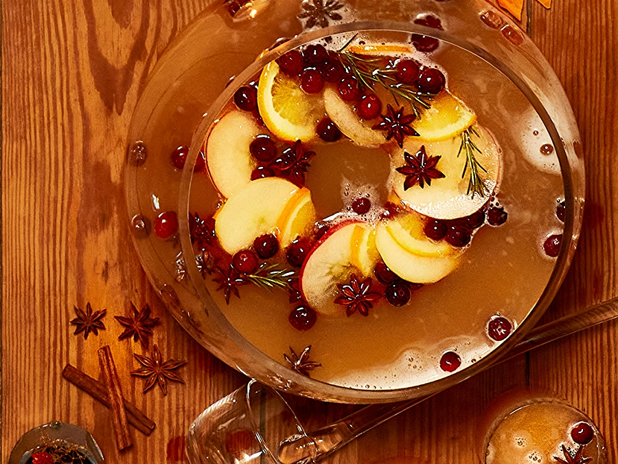 Spiced Apple Fall Punch Recipe