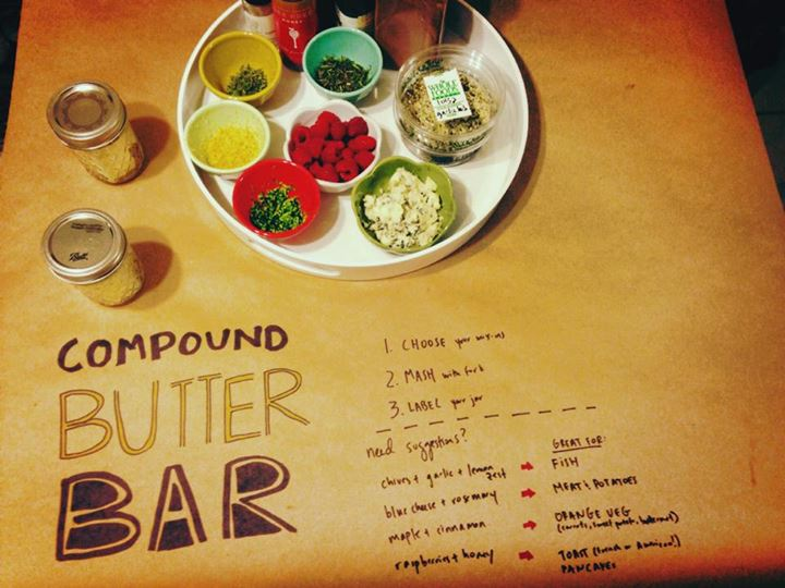 compound butter bar