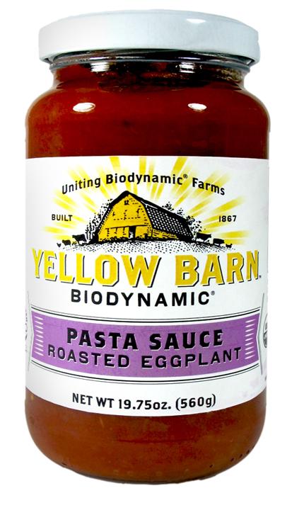 Good Boy Organics Yellow Barn Biodynamic Pasta Sauces